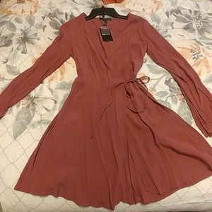 Forever 21 muave dress
